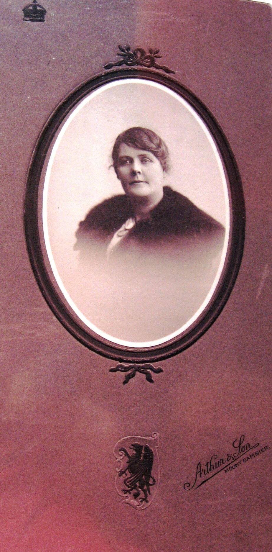 Wilhelmina Hann aged 45 BH