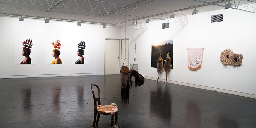 Ali-Gumillya-Baker-and-Sera-Waters-Illusions-of-History-at-Hugo-Michell-Gallery-2016