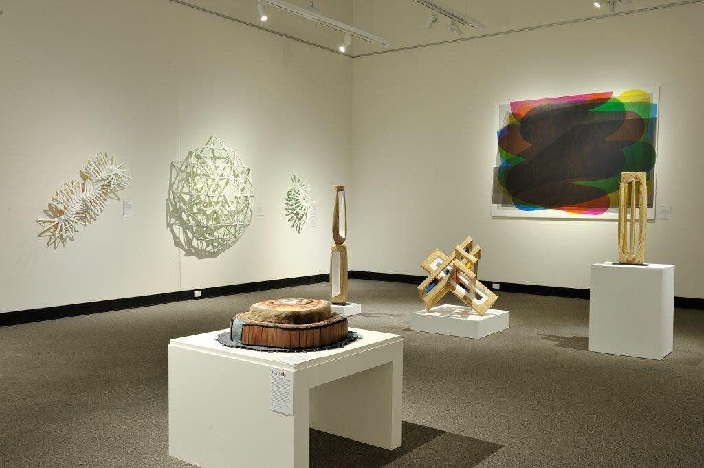 15 artists: installation shot