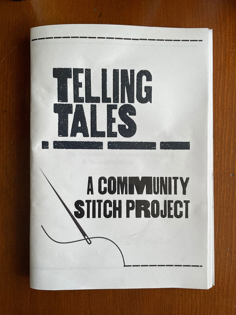 Photograph of Telling Tales booklet cover