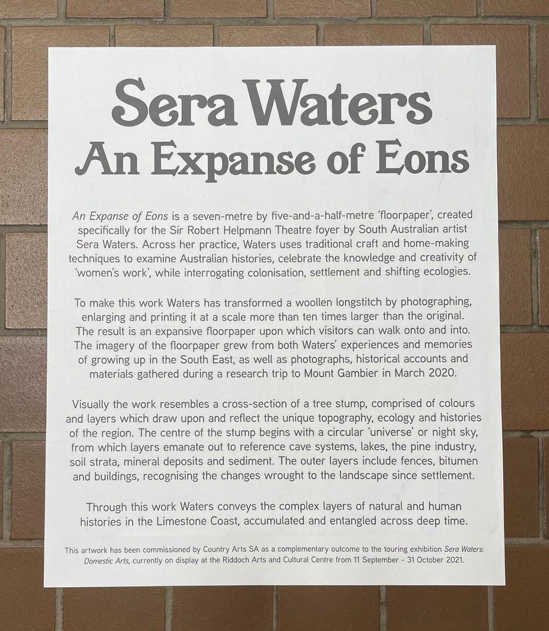 Expanse of Eons text