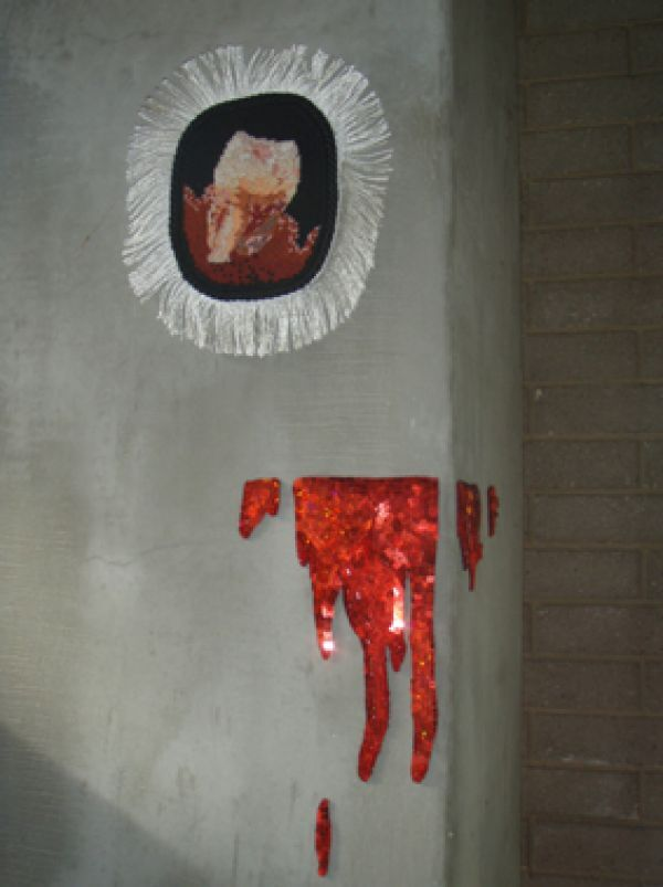 Dark Doily: Bloody Wisdom + Dripping Blood