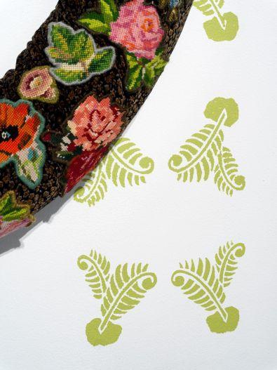 Boundary Wreath (detail)