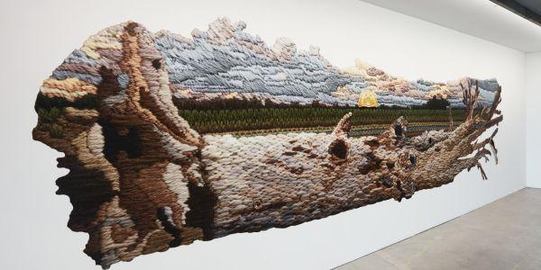 Installation of Limb by Limb by textile artist Sera Waters